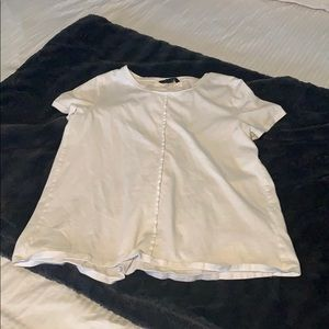 Jcrew tee with back bows